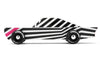 lifestyle_1, Candylab Toys Solid Beech Wood Modern Vintage Limited Edition Ghost car black white pint striped