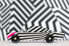 lifestyle_5, Candylab Toys Solid Beech Wood Modern Vintage Limited Edition Ghost car black white pint striped