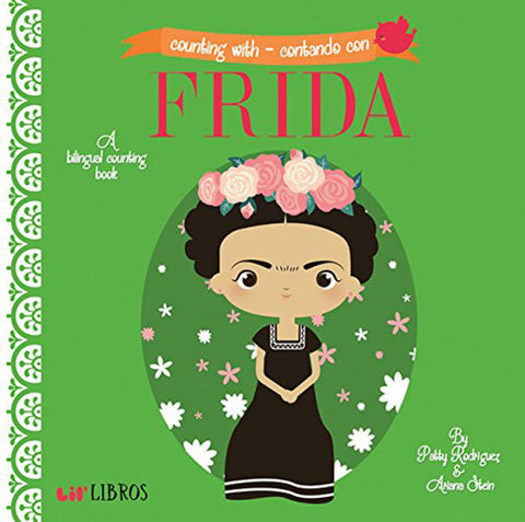 Lil' Libros Bilingual Book - Counting with Frida/Contando con Frida Children's Board Book