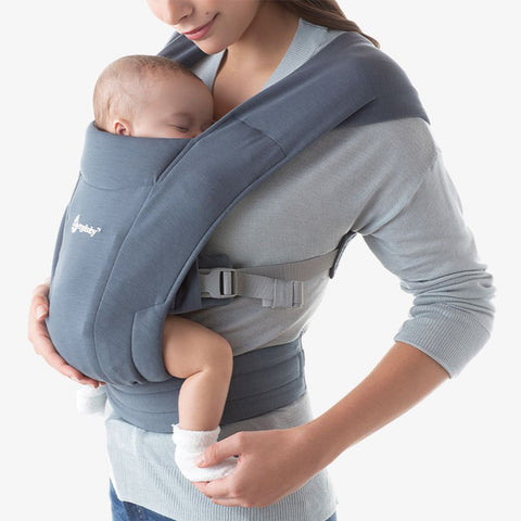 Ergobaby Embrace Newborn Carrier Oxford Blue Blue