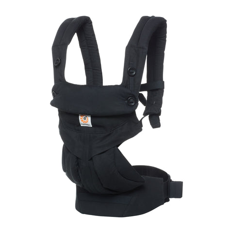 ergobaby 360 all position baby carrier with lumbar support ergonomic comfortable adjustable pure black