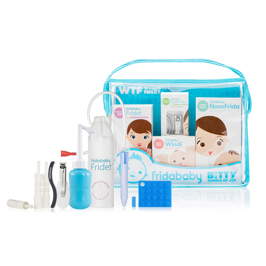 FridaBaby Bitty Bundle of Joy Fuss-Buster Parent Healthcare & Grooming Toolkit