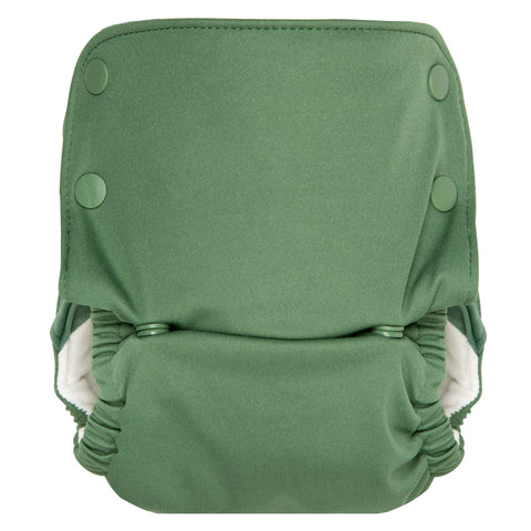 GroVia All-In-One Reusable Cloth Diaper basil green