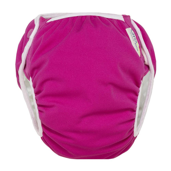 GroVia Reusable Swim Cloth Baby Diaper lotus pink
