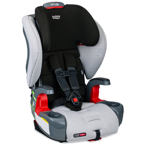 Britax Grow with You ClickTight Combination Harness-2-Booster Seat indy grey black clean comfort fabric