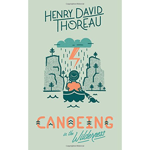 Henry David Thoreau Novels Young Reader Books Literature canoeing in the wilderness