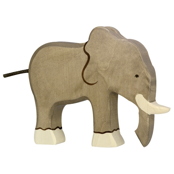 Holztiger Wooden Safari Animals Children's Toys elephant large