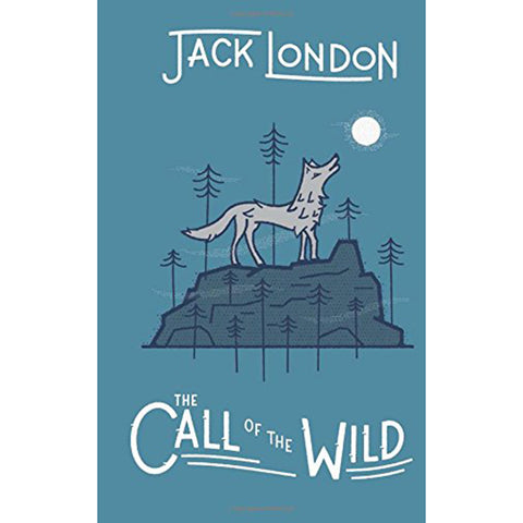 Jack London: Call of the Wild - Young Reader Books Literature blue