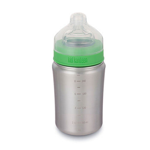 Klean Kanteen Stainless Steel Baby Bottle, 9 oz