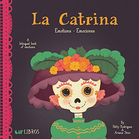 Lil' Libros Bilingual Book - La Catrina: Emotions Children's Board Book