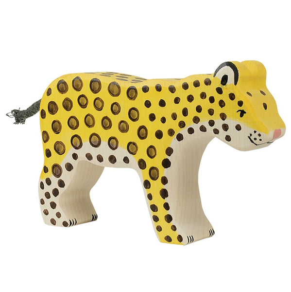 Holztiger Safari Decor wooden animals Leopard