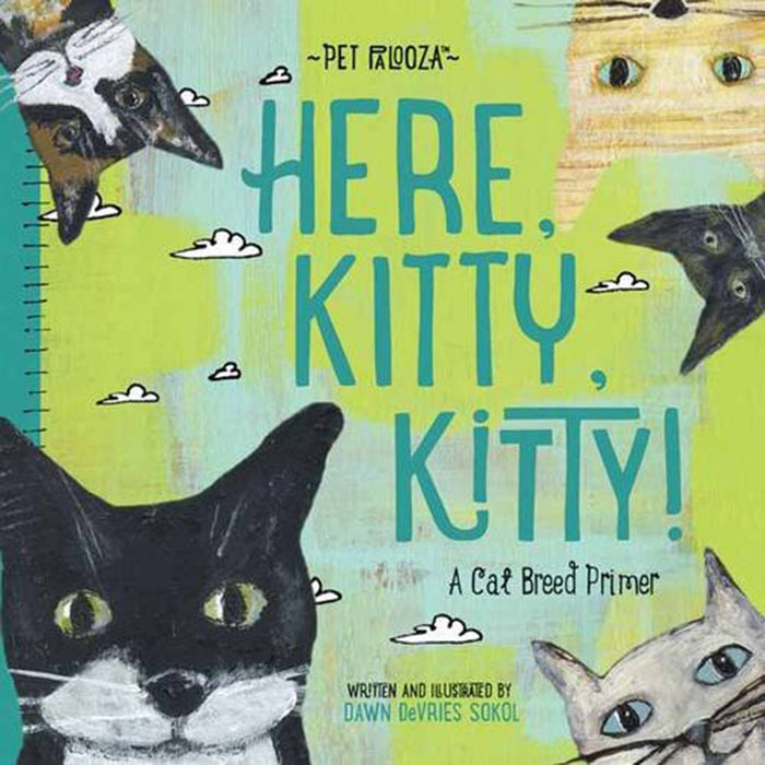 Pet Palooza: Here, Kitty, Kitty! - A Cat Breed Primer Children's Book