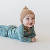 lifestyle_3, Quincy Mae 100% Organic Cotton Ribbed Infant Baby Pixie Bonnet Hat