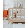 lifestyle_3, dadada White + Natural Soho 2-in-1 Convertible Crib to Toddler Bed Furniture beige