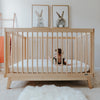 lifestyle_5, dadada White + Natural Soho 2-in-1 Convertible Crib to Toddler Bed Furniture beige