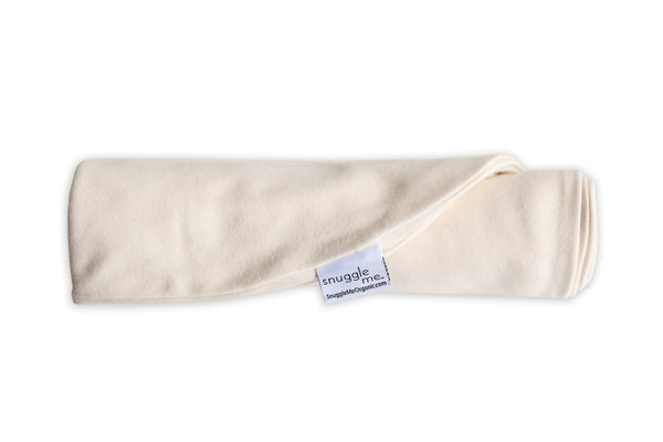 Snuggle Me Organic Baby Lounger Cover natural ivory off-white