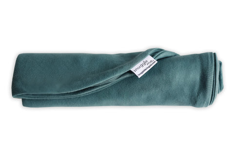 Snuggle Me Organic Baby Lounger Cover moss green dark