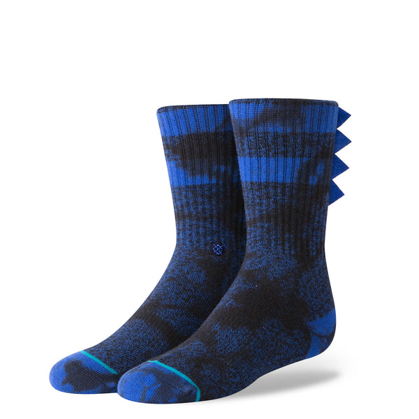 Stance Classic Toddler Boys Socks pattern torpedo dark blue flag detail fringe