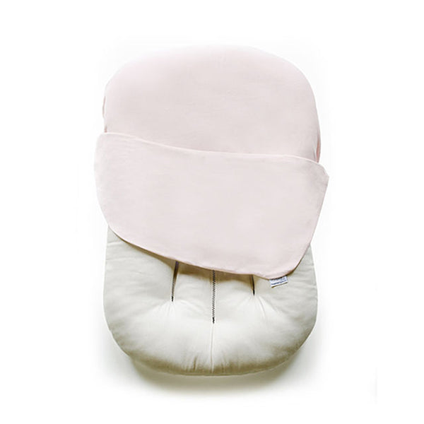 Outlet Snuggle Me Organic Baby and Infant Lounger sugar plum light pink co-sleeper
