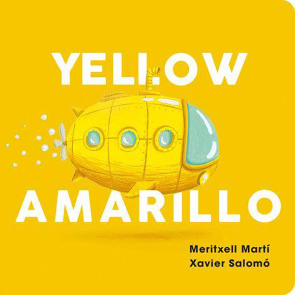 Bi-Lingual Color Series Board Books Children's Early Learning & Language yellow amarillo