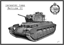 Load image into Gallery viewer, Matilda II tank