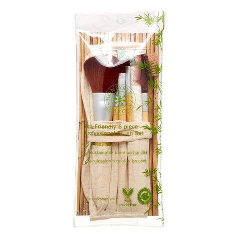 Honeybee Gardens Eco-Friendly 6 piece Brush Set