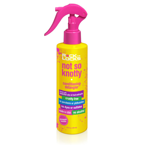 Rock the Locks Not So Knotty Conditioning Detangler
