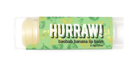 Hurraw! Banana Lip Balm