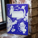 Recycled Notebook | 100% Post Consumer Waste | Kittens in Space Decomposition Book