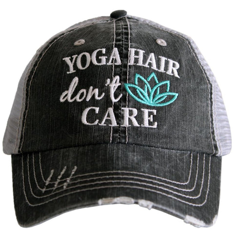 Yoga Hair Don't Care