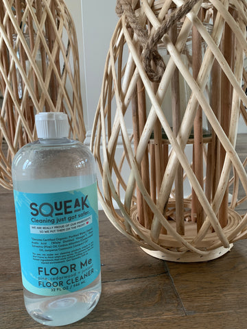Squeak Floor Me Non-Toxic Floor Cleaner