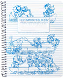 Recycled Notebook | 100% Post Consumer Waste | Rowbots Decomposition Book