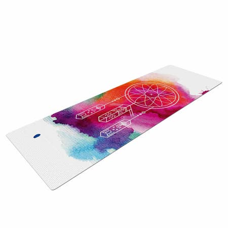 LIFESTYLE BY KESS INHOUSE Dream In Color Yoga Mat