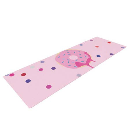 LIFESTYLE BY KESS INHOUSE Sprinkles Yoga Mat