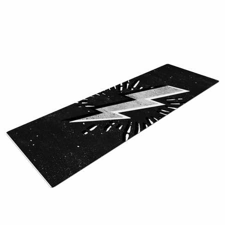 LIFESTYLE BY KESS INHOUSE Bolt Yoga Mat