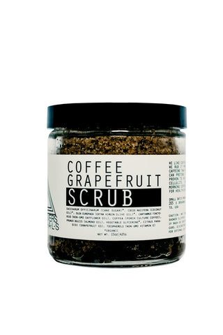 Moon Rivers Naturals -Coffee Grapefruit Body Scrub