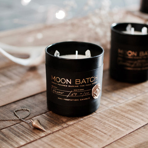 Moon Batch Artemis Blend February 19th Full Super Snow Moon Batch Candle