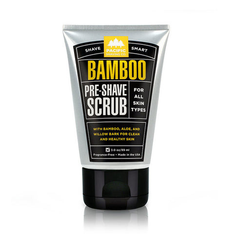 Pacific Shaving Co. Bamboo Pre-Shave Scrub