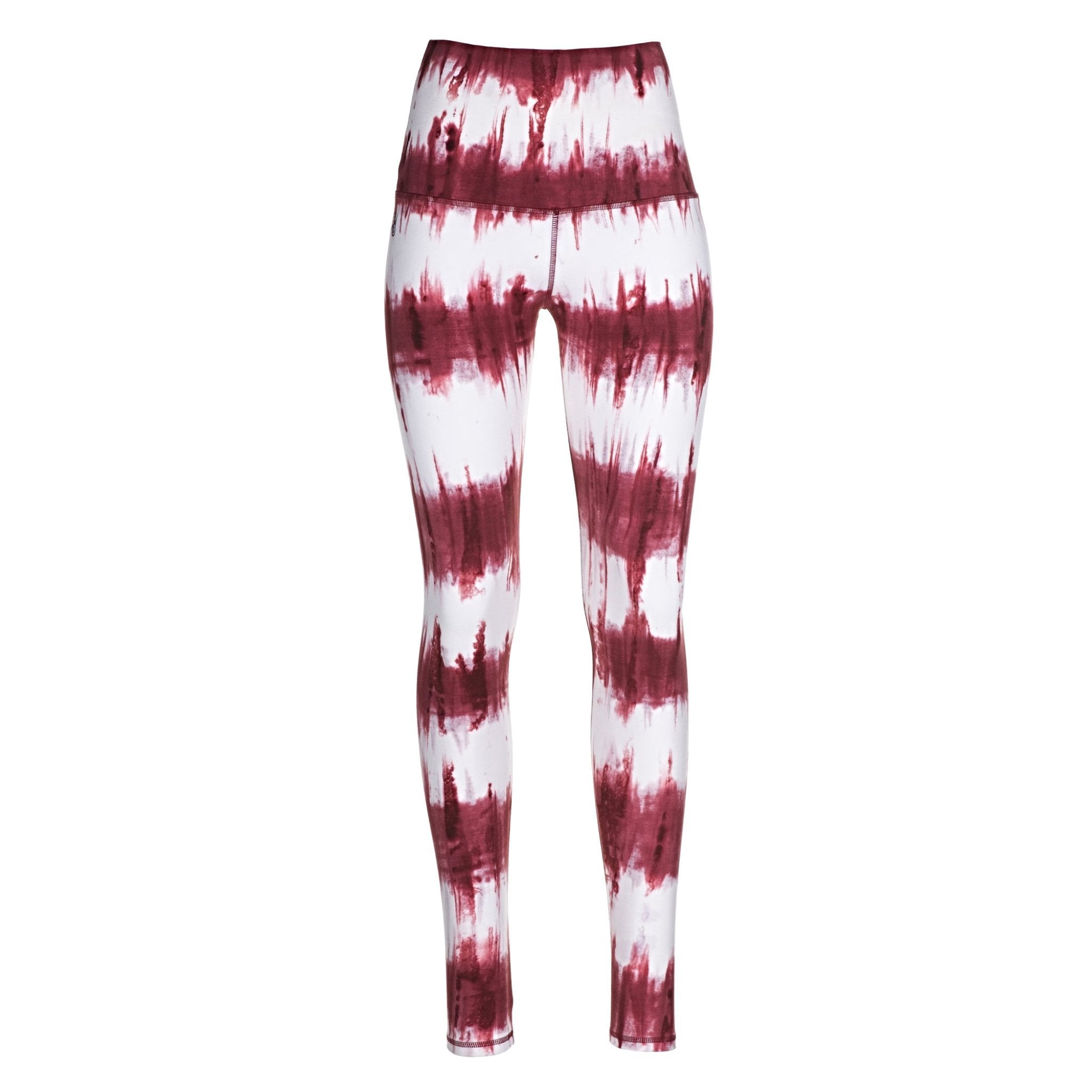 Leggings Lava Stripes (Querstreifen-Batik)