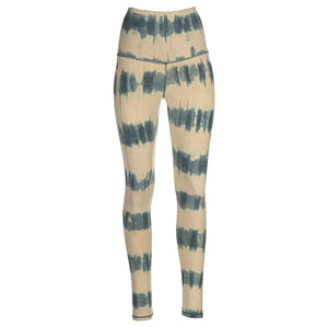 Leggings The Beach Stripes (Querstreifen-Batik)