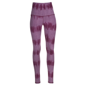 Leggings Very Berry Stripes (Querstreifen-Batik)