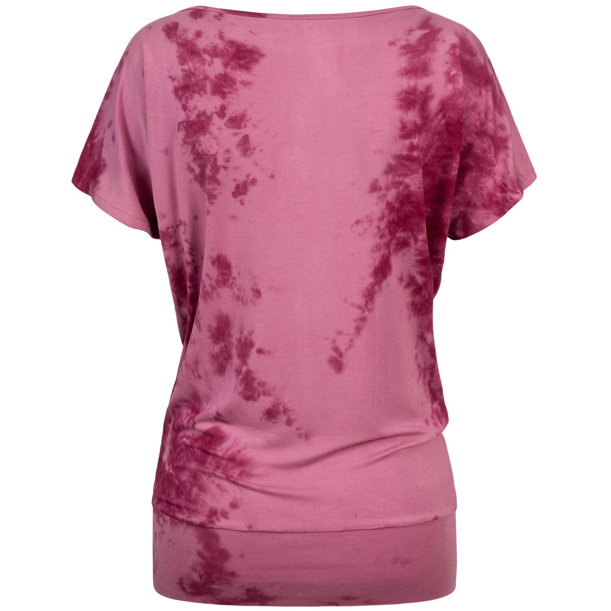 Batik Yoga-Shirt berry