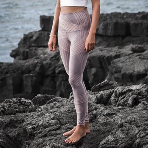 Leggings Criss Cross Lavender