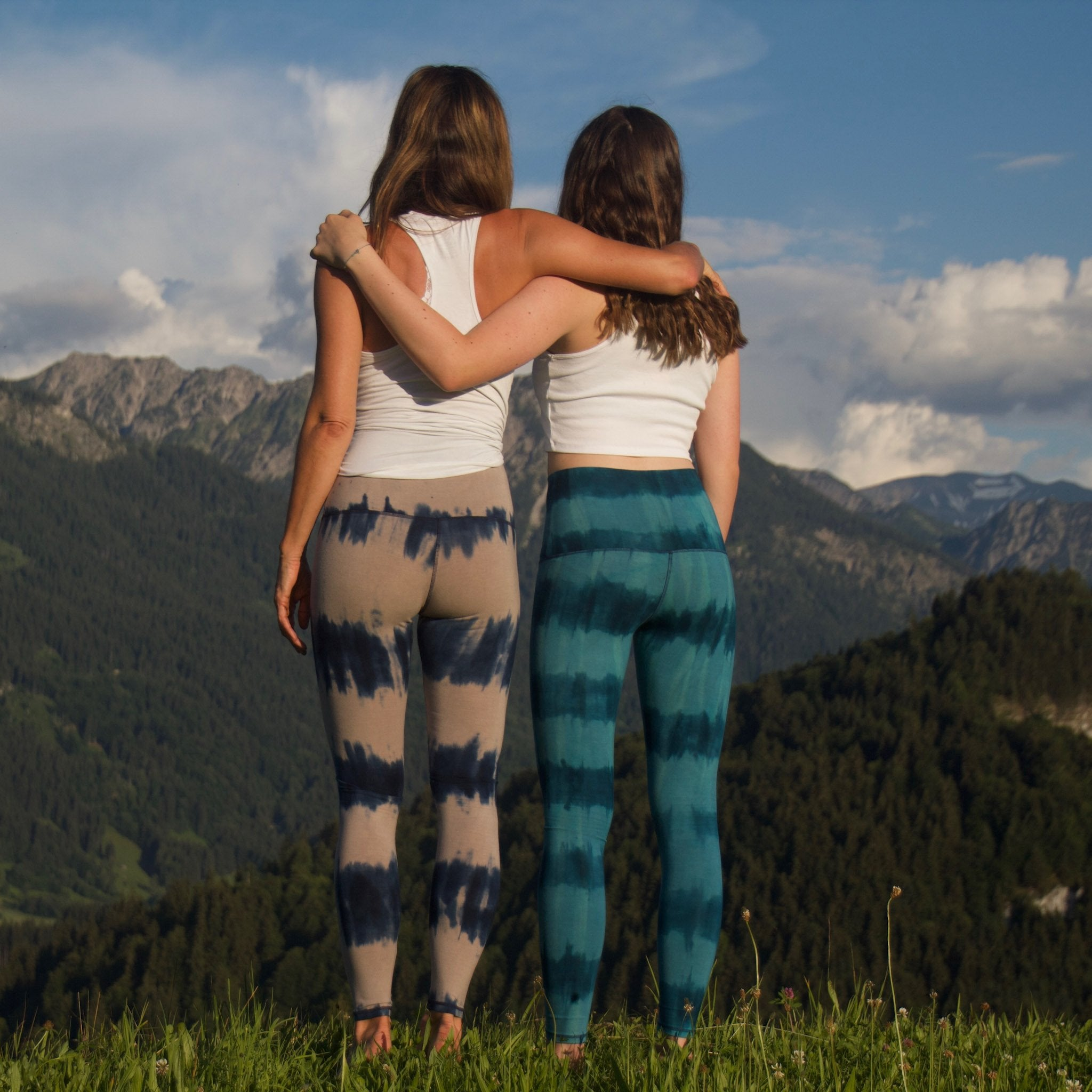 Leggings Sea Shore (Längsstreifen-Batik)