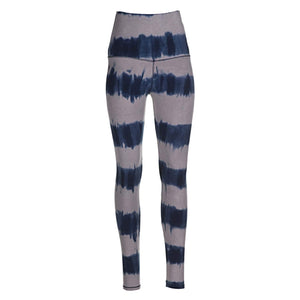 Leggings Seashore Stripes (Querstreifen-Batik)