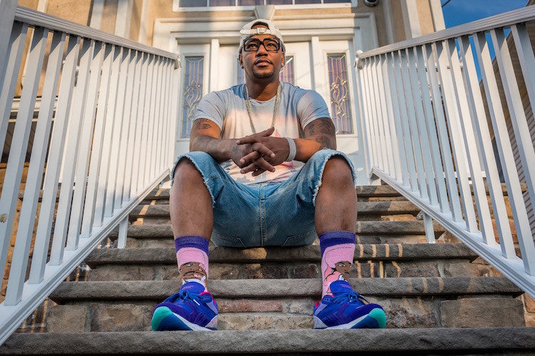 Cam'ron and Reebok blow Purple Haze on 4/20