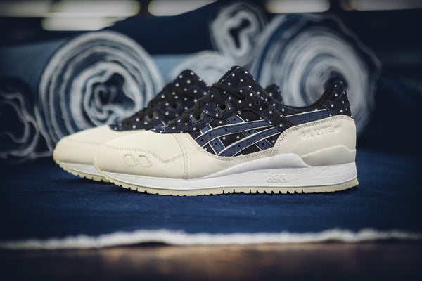 Japanese Denim Asics GEL-Lyte III out April 9