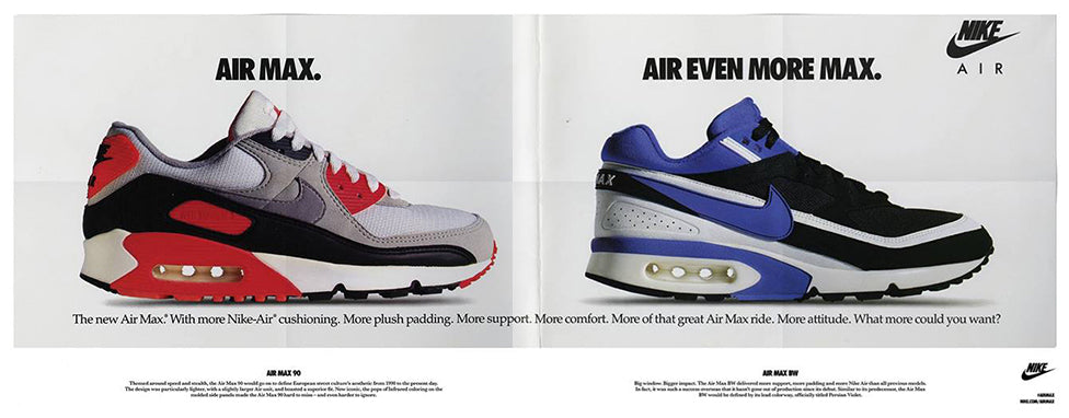 abd3d4415f The BW was the fourth iteration and one of the most underrated shoes in the Air  Max line.