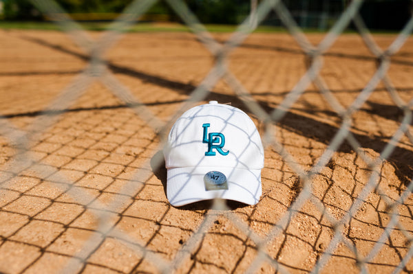 47 Brand x RCK - LR Travelers Clean Up Dad Hat (White/Teal)