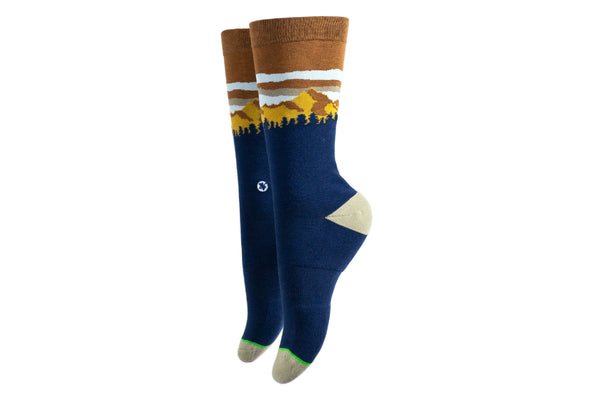 Arkansocks - Pinnacle View (Navy/Mud)